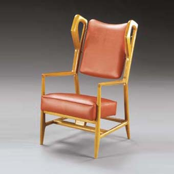 Ash open armchairs