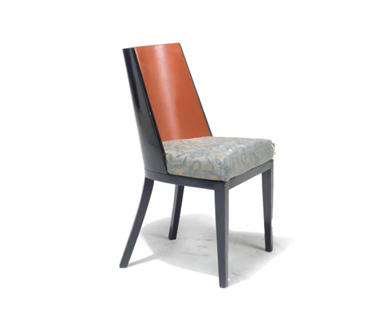 Side chair (painted by D. Maclaren) by Christie`s