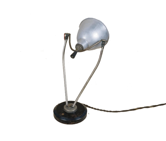 Adjustable desk lamp by Christie`s