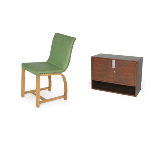 MODERNIST FURNISHINGS, two