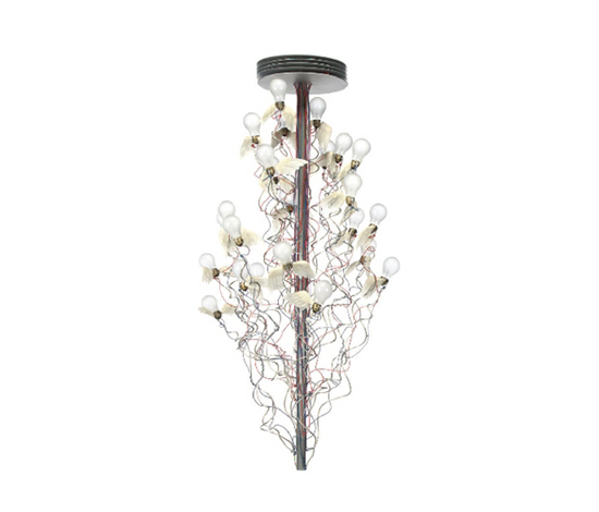 Birds, birds, birds chandelier