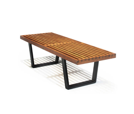 Slat bench by Christie`s