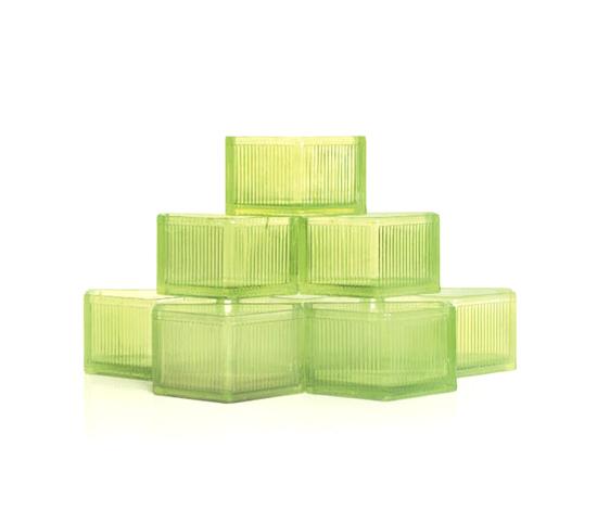 Veralux glass bricks (set of 56) by Christie`s