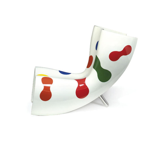 Felt chair by Christie`s