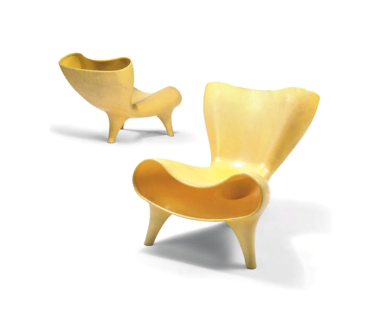 Orgone chairs (pair) by Christie`s