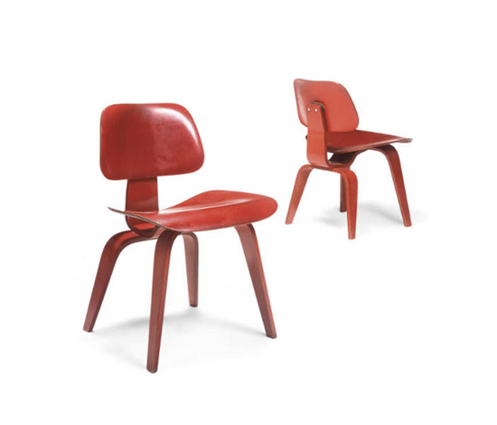 DCW chairs (pair)