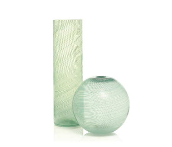 Mezza filigrana vases (pair)