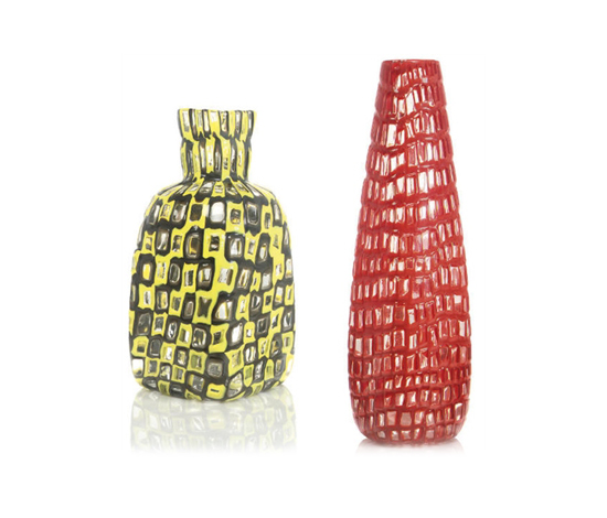 Occhi vases (pair) by Christie`s