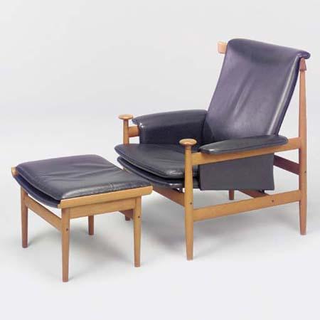 Bwana chair/ottoman