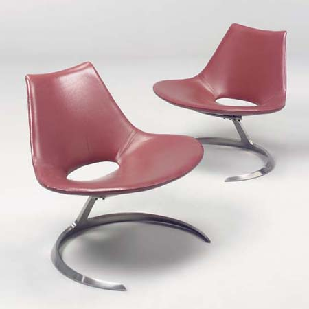Scimitar lounge chairs