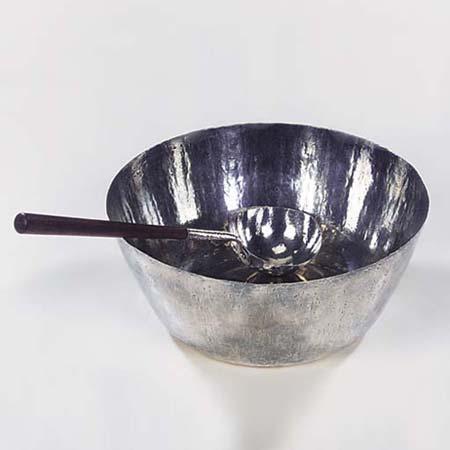 Punch bowl & ladle