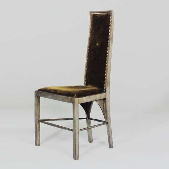 Low-back side chair