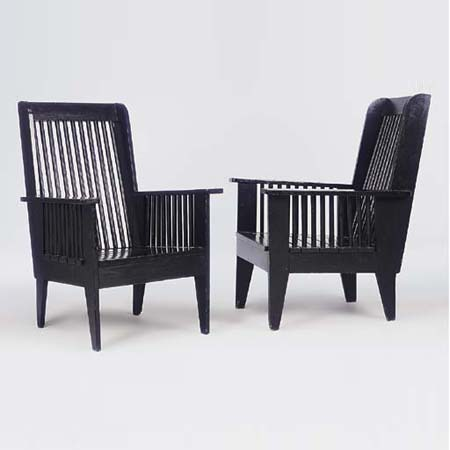 Garden chairs by Christie`s