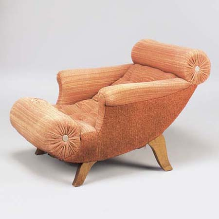 Knieschwimmer-type lounge chair