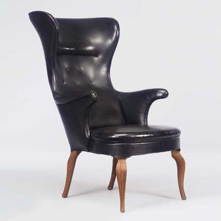 Genial High Back Lounge Chair By Christie`s