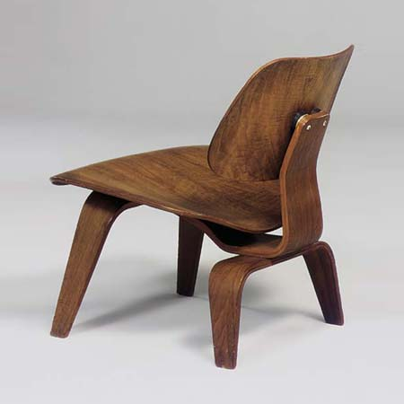 Pre-production L.C.W. lounge chair