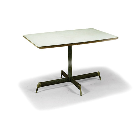 Table for the first Olivetti canteen de Della Rocca