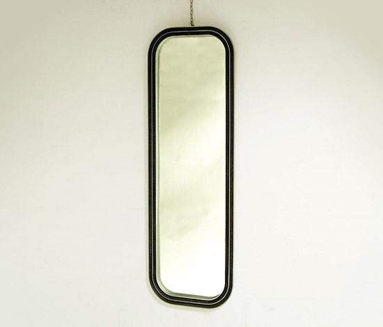 Della Rocca-Mirror with aluminum frame