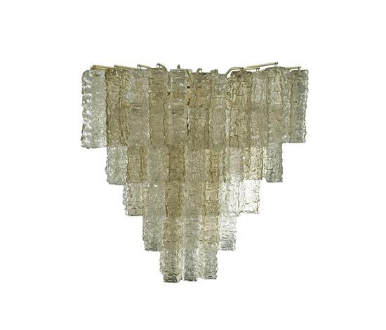 Murano glass chandelier, 'Calze' series by Della Rocca
