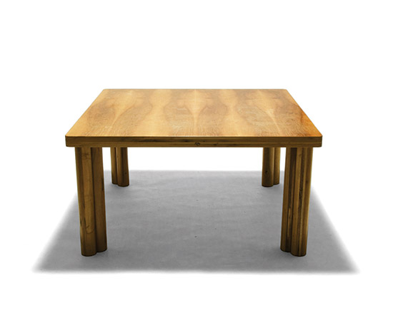 'Scuderia' nutwood table by Della Rocca