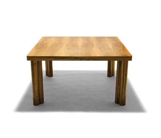 Della Rocca-'Scuderia' nutwood table