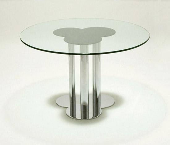 'Trifoglio' table by Della Rocca