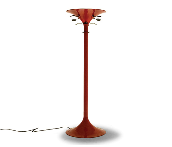 Coat stand and lamp, model 4706 by Della Rocca