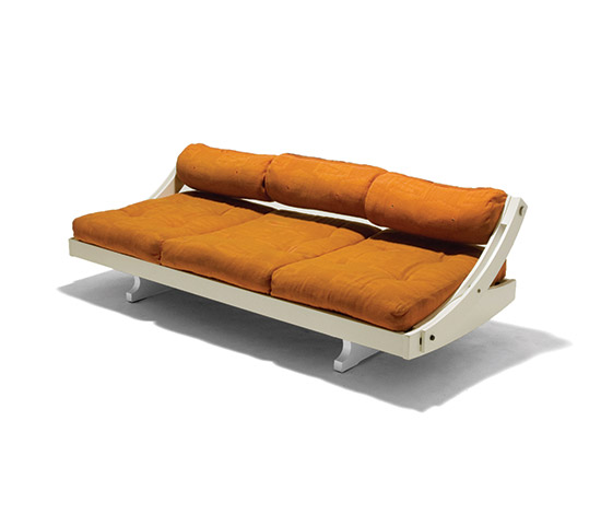 Transformable sofa / daybed 'GS 195' by Della Rocca