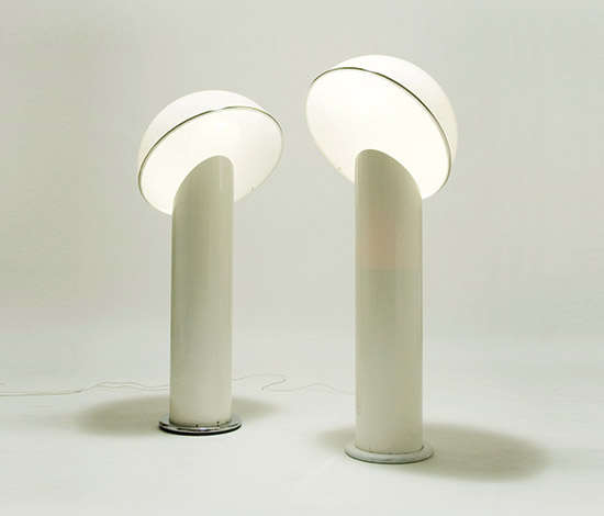 Pair of 'Ciot' floor lamps by Della Rocca