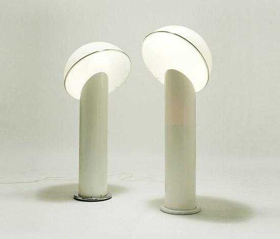 Della Rocca-Pair of 'Ciot' floor lamps