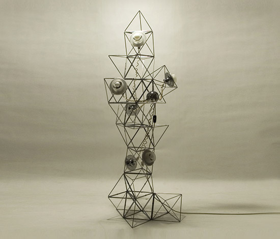 Della Rocca-'Poliedra' illumination system
