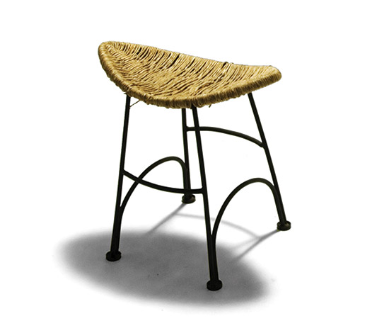 'Banana Chair' with stool by Della Rocca