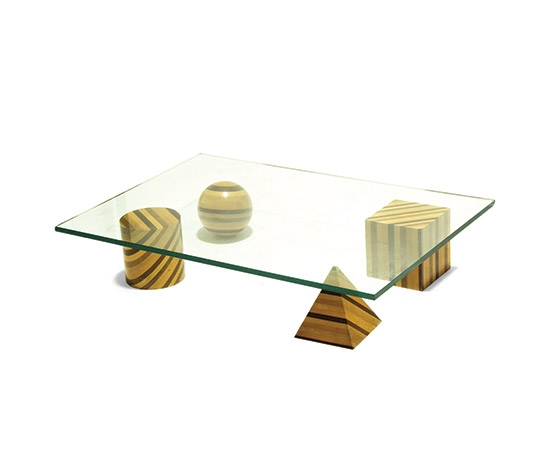 'Metafora 1' coffee table by Della Rocca