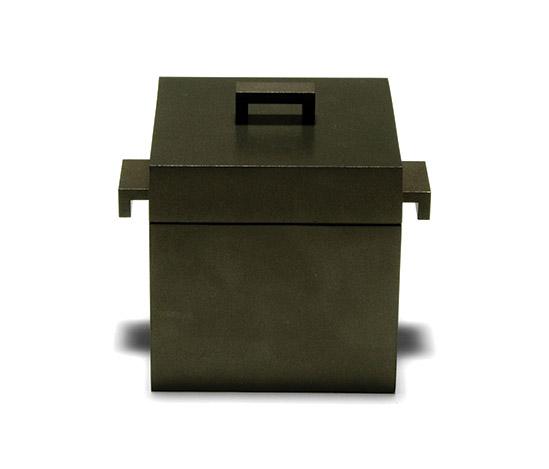 'La cubica' cast aluminum pot