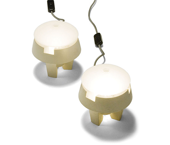 Pair of 'Gi-Gi' table lamps