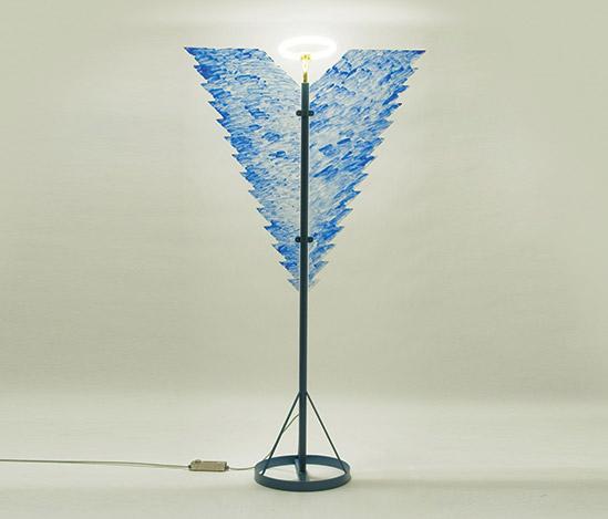 Della Rocca-'Arcangelo Metropolitano' floor lamp