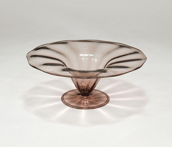 Blown glass bowl, 'Soffiati 3003' series