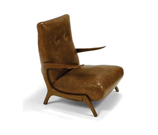 Pair of Italian armchairs by Della Rocca