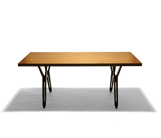Della Rocca-Rosewood dining table