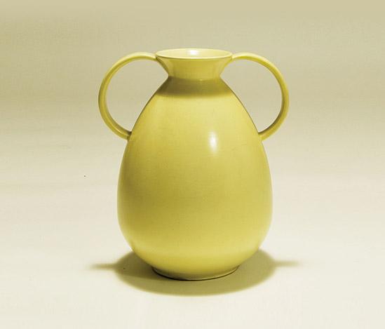Glazed stoneware amphora