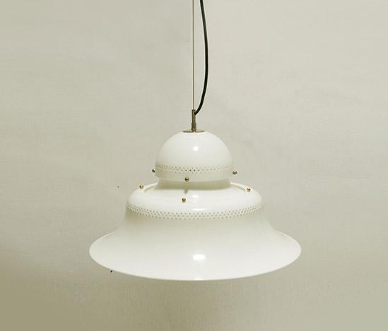 Metacrylate pendant lamp, mod. 4014