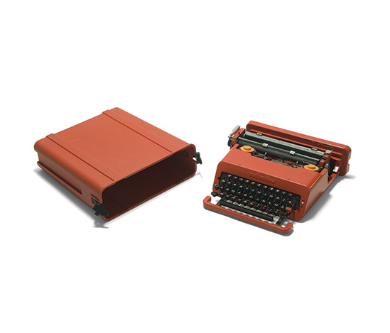 'Valentine' typewriter von Della Rocca