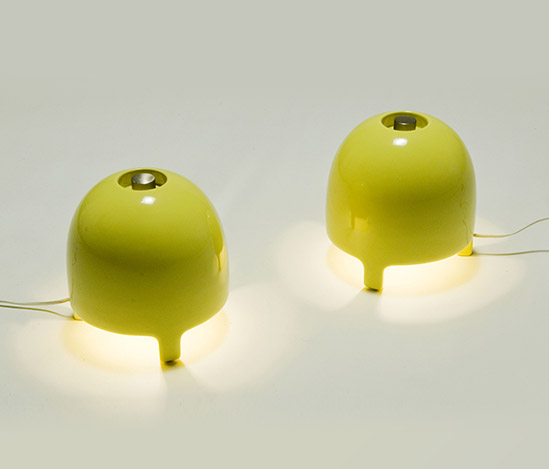Pair of 'M-30' table lamps di Della Rocca