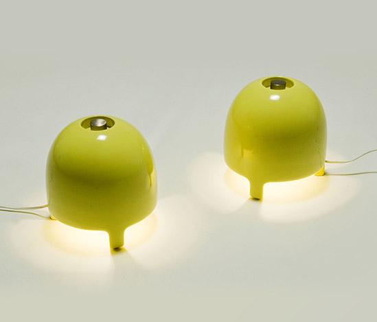 Della Rocca-Pair of 'M-30' table lamps
