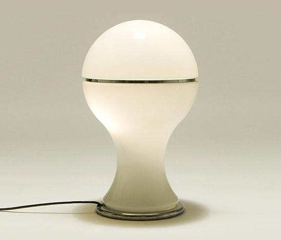 Della Rocca-'Mongolfiera' opaline glass table lamp
