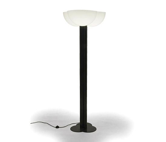 Della Rocca-Metal and plexiglass floor lamp