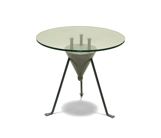 Della Rocca-Unique metal and crystal table