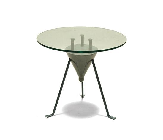 Della Rocca-Unique metal and crystal table