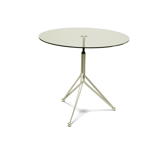 Della Rocca-'Anonimus' crystal and metal table