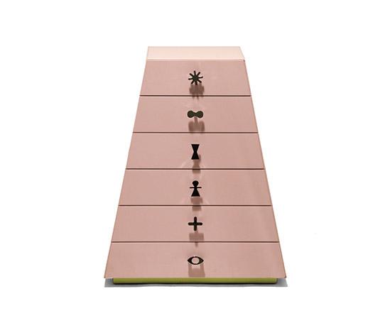 Della Rocca-'Piramide' chest of drawers (prototype)